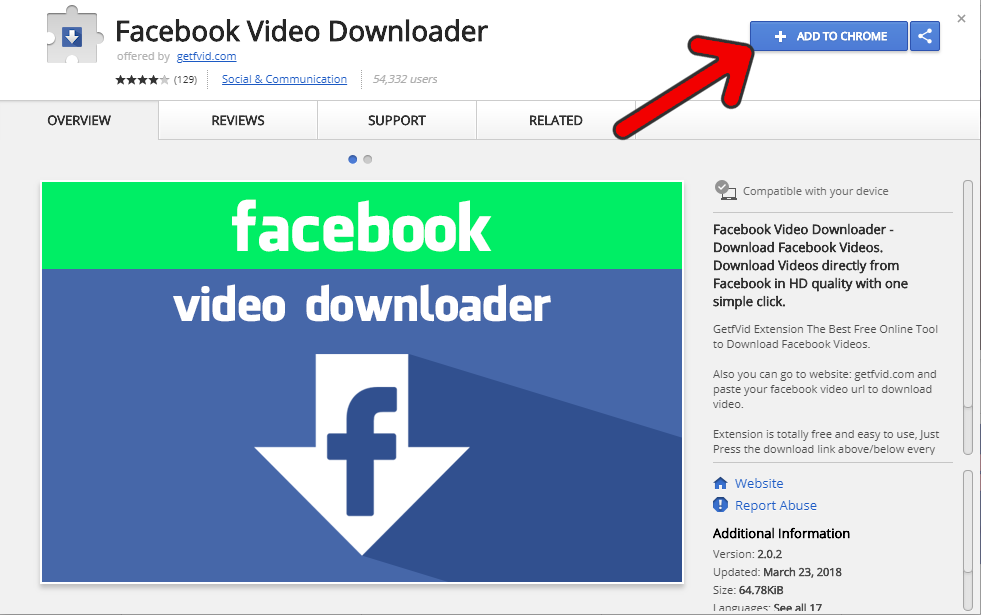 How to Download Facebook Videos Using Chrome Extension